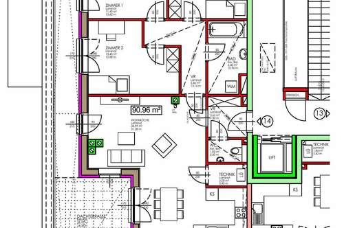 Rabenstein. Geförderte 4 Zimmer Wohnung | Dachterrasse | Miete mit Kaufrecht.