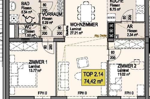 Michelhausen. Geförderte 3 Zimmer Wohnung   Balkon   Miete mit Kaufrecht.