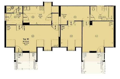 Kilb. 4 Zimmer Familienwohnung   Balkon   Miete.