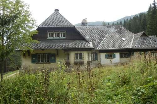 Ehemaliges Forsthaus Breitenstein wird in BAURECHT vergeben