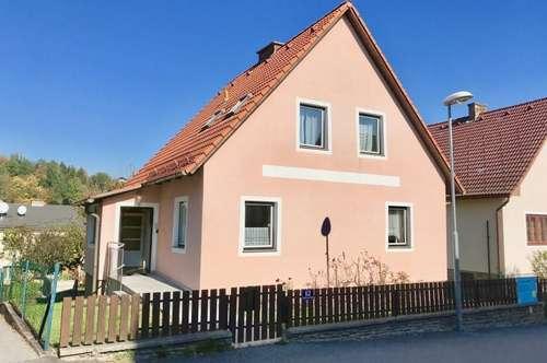 Ruhiges Einfamilienhaus in Zwettler Siedlung