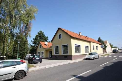 2453 Sommerein, Geschäftslokal/Wohnung, Eckgrund im Ortszentrum, große Lagerflächen mit vielseitigen Nutzungsmöglichkeiten!