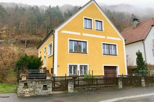Schönes Siedlungshaus im Wachauer Spitz an der Donau