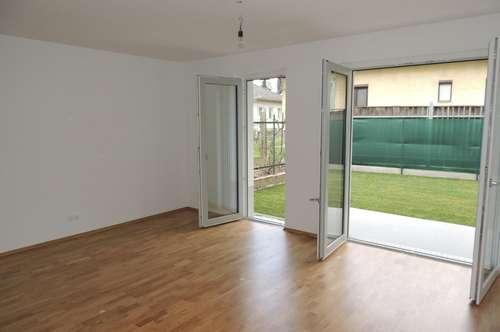 Miete Stockerau, 2-Zimmer Erstbezug inkl. Garten und Terrasse