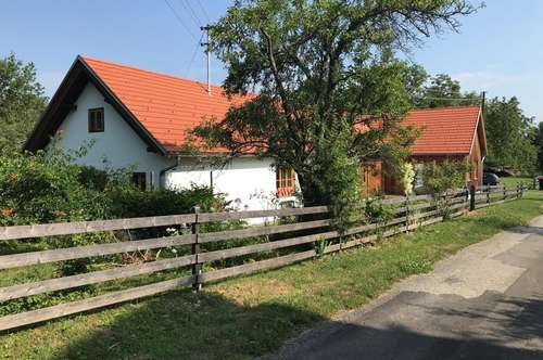 Nähe Güssing, saniertes Bauernhaus in Ruhe- und Aussichtslage