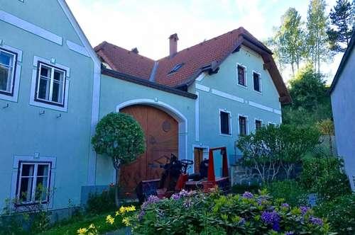 Klassischer Bauernhof im Waldviertel