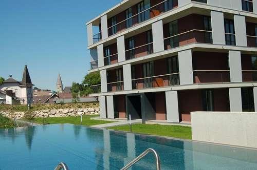 4-Zimmer-Wohnung mit Terrasse und Pool