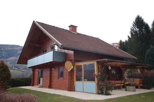 Schönes Holzblockhaus bei Radenthein