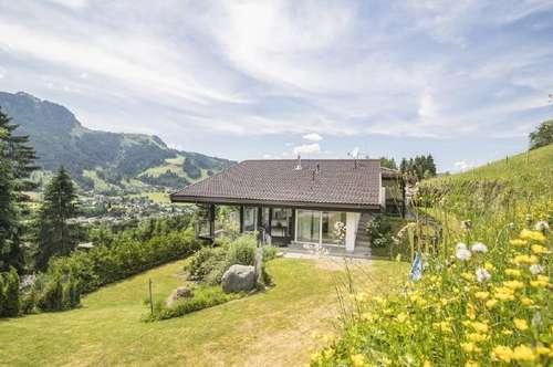 Modernes Landhaus in absoluter Bestlage mit Blick auf die Gamsstadt