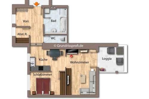 Kauf: Zentrale 2-Zimmerwohnung in Kössen