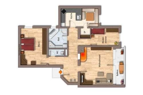 Kauf: Ruhige, sonnige Wohnung in Hopfgarten - Sofortbezug