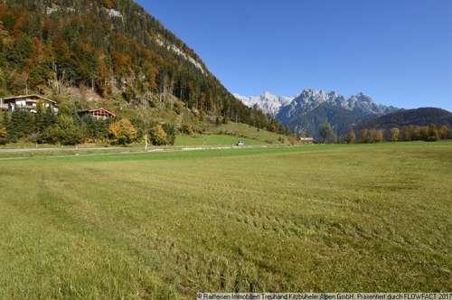 Kauf: Grundstück direkt am Skilift in St. Ulrich am Pillersee