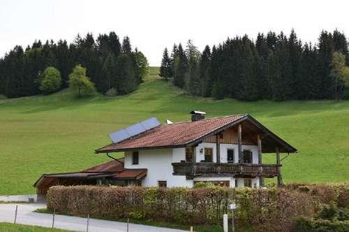 Entzückendes Wohnhaus in Traumlage in Kössen