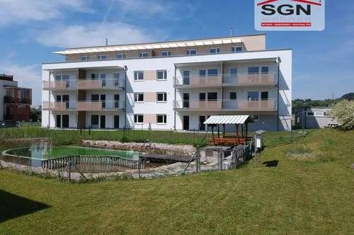 Provisionsfreier Erstbezug mit Miete-Kaufoption: 3-Zimmer Genossenschaftswohnung im 1. OG mit Schwimmteich/Balkon in Petzenkirchen