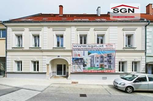 Freifinanzierte 2 Zimmer-Dachgeschoss im Herzen von Herzogenburg