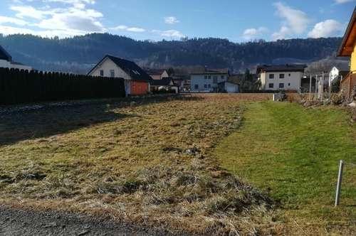 Frühlingsbeginn - Baubeginn Baugrundstück in St. Andrä