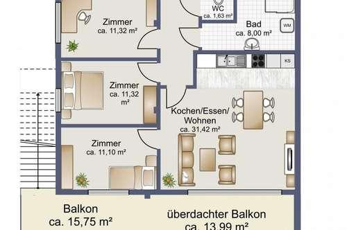 Neubauwohnung mit Wunschausstattung!
