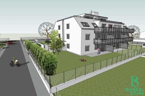 PROVISIONSFREI! Hochwertige Eigentumswohnungen mit Gärten, Terrassen und Balkonen in Grünruhelage! Schlüsselfertig!