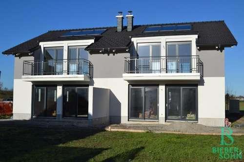 Elegante, hochwertige Doppelhaushälfte mit Garten - Massivbauweise - Belagsfertig - PROVISIONSFREI