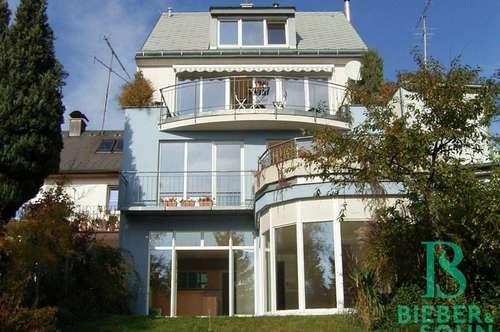 Traumhaft - Außergewöhnlich - Maisonette mit großem Garten, Terrassen, Garage - beim Lainzer Tor