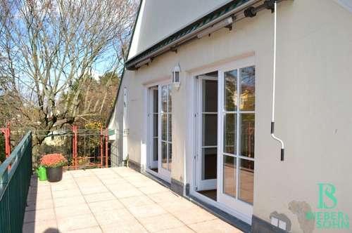 Althietzing - West-Terrasse - Garten - Elegante, großzügige Wohnung