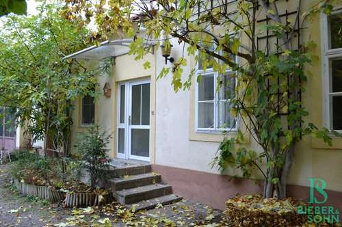 Wunderschöne Innenhofwohnung mit Garten - Hauscharakter
