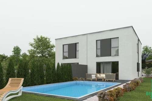 Moderne Doppelhaushälfte in top Lage – optimal für eine Jungfamilie!