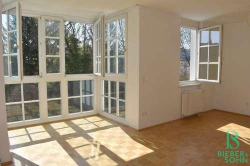 Beim Türkenschanzpark - Elegantes Appartement mit Terrasse, Garten und Garage - 120m² Nutzfläche