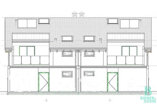 Elegante, hochwertige Doppelhaushälfte mit Garten - Massivbauweise - PROVISIONSFREI