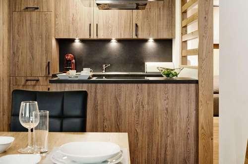 Investment und Feriendomizil: Penthouse-Wohnung im Ski-In/Ski-Out Resort AlpinLodges Maria Alm