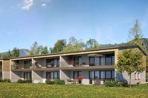 Schöne 3-Zimmer Gartenwohnung im Bregenzerwald