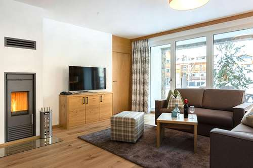 Feriendomizil und Investment: schönes Penthouse Apartment im Ski/In Ski/Out Resort AlpinLodges Maria Alm