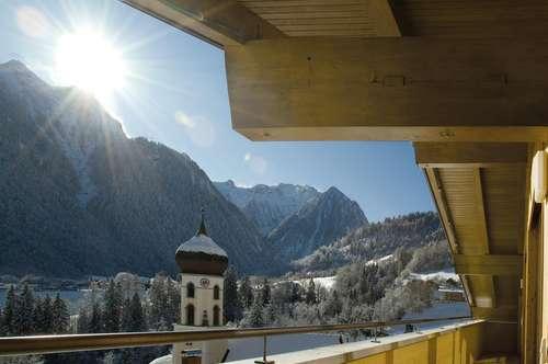 Sonnige 2-Zimmer Ferienwohnung mit Bergblick in Bürserberg