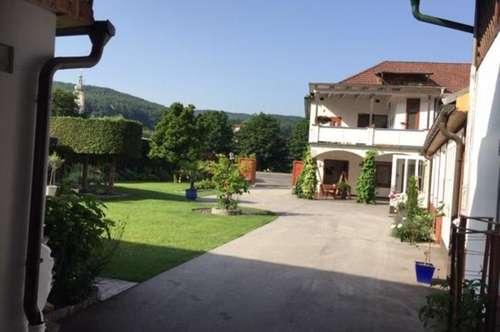 großzügiges Leben im Burgenland - ehemalige TISCHLEREI mit Wohnhaus und Garten