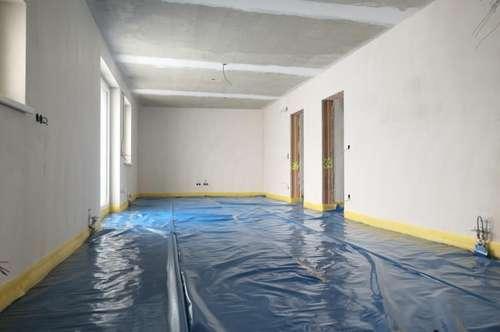 Kurz vor Fertigstellung - 3 Zimmer WHG mit Balkon & Küche in Glaubendorf --- ERSTBEZUG