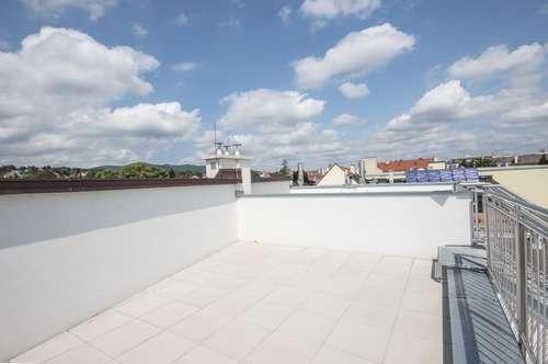 große DACH-TERRASSE plus zweite Terrasse zum Schlafzimmer +108m² TOP Wohnfläche NEUBAU ! (4 Zimmer) mitten in der Altstadt