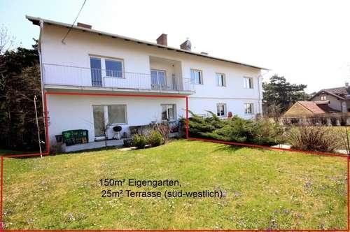 BADEN: Garten - Wohnung in Bestlage am Mitterberg / Kurpark (direkt am Waldesrand)