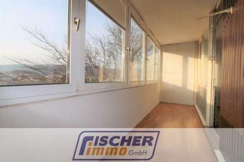 Geräumige 3-Zimmer-Wohnung im 6 Liftstock mit westseitiger Loggia und Autoabstellplatz in Zentrumslage/3