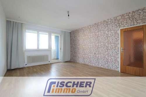Geräumige 2-Zimmer-Wohnung mit verglaster Loggia im 3. Liftstock/37