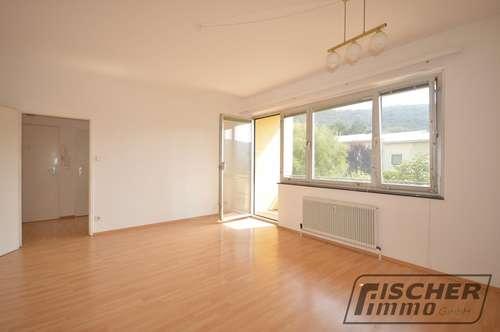 +TRAUMHAFTE LAGE IN DER HINTERBRÜHL! Schöne 3 Zimmer-Wohnung mit Loggia und Grünblick+