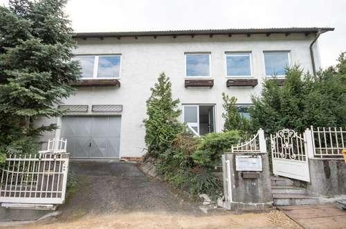 MÖDLING, Hinterbrühl: günstiges Miethaus mit 5 Zimmern + Keller + Garage + schönen Garten mit Pool