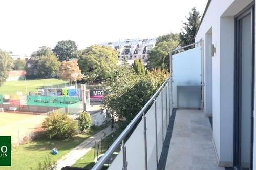 NEUBAU - ERSTBEZUG : 3 Zimmer mit 2 Bädern & 2 Balkonen : nur 200m zum Kagraner Platz - U1 (Ruhelage) !