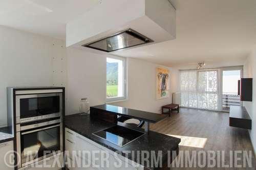 NEUER PREIS | Moderne 3 Zi.- Eckwohnung mit großem Sonnenbalkon und 2 TG-Stellplätzen