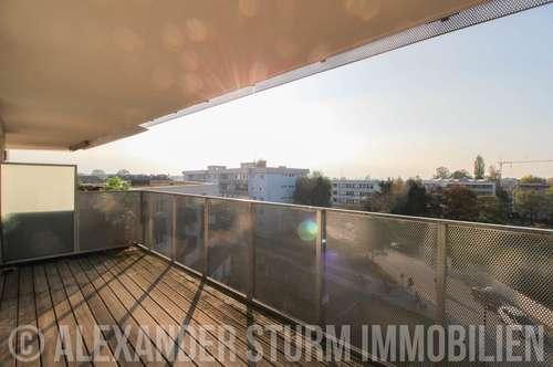 URBANES LEBEN | 2 Zi.-Wohnung mit Panoramaterrasse