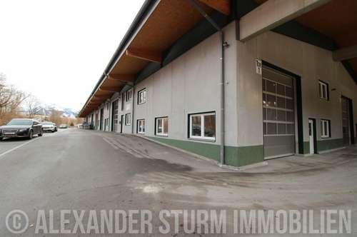 Vielseitige Lager-/Produktionshalle mit überdachter Freifläche | Hallenfläche 285 m2 + Freifläche 215 m2