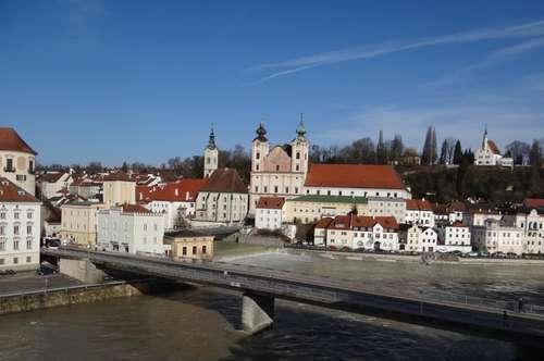 Wohnen in zentraler Lage mit Blick auf die Steyrer Altstadt