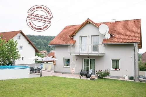 Provisionsfrei! Bezugsfertiges, junges Haus mit 2 Wohneinheiten in Steyr-Gleink - hochwertig & elegant & niedrige Betriebskosten