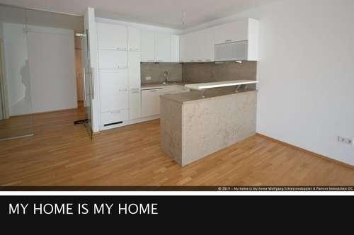 HERRNAU | Stylische 2-Zimmer-Wohnung mit großer Loggia