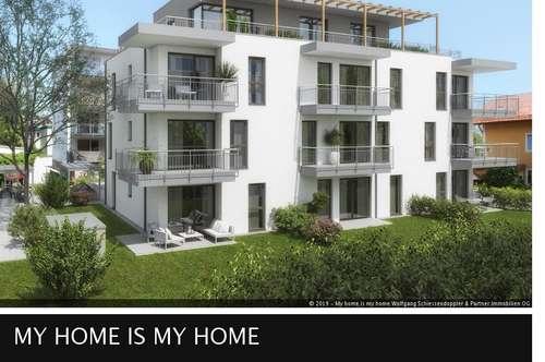 PARSCH | Wohnen im Neubau – modern und hochwertig | 2-Zimmer-Terrassenwohnung | T8