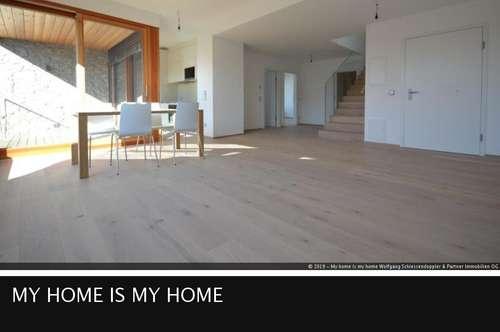 5.8 Klare Natur trifft exklusive Atmosphäre | 4-Zimmer-Duplex mit Dachstudio in Aigen